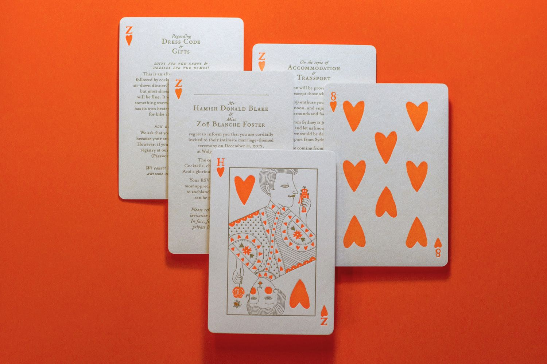 Hamish Blake & Zoe Fosters wedding invitations | Weddings bouquets ...