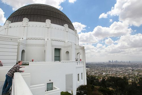 The Griffith Observatory Griffith Observatory City Of Angels Observatory