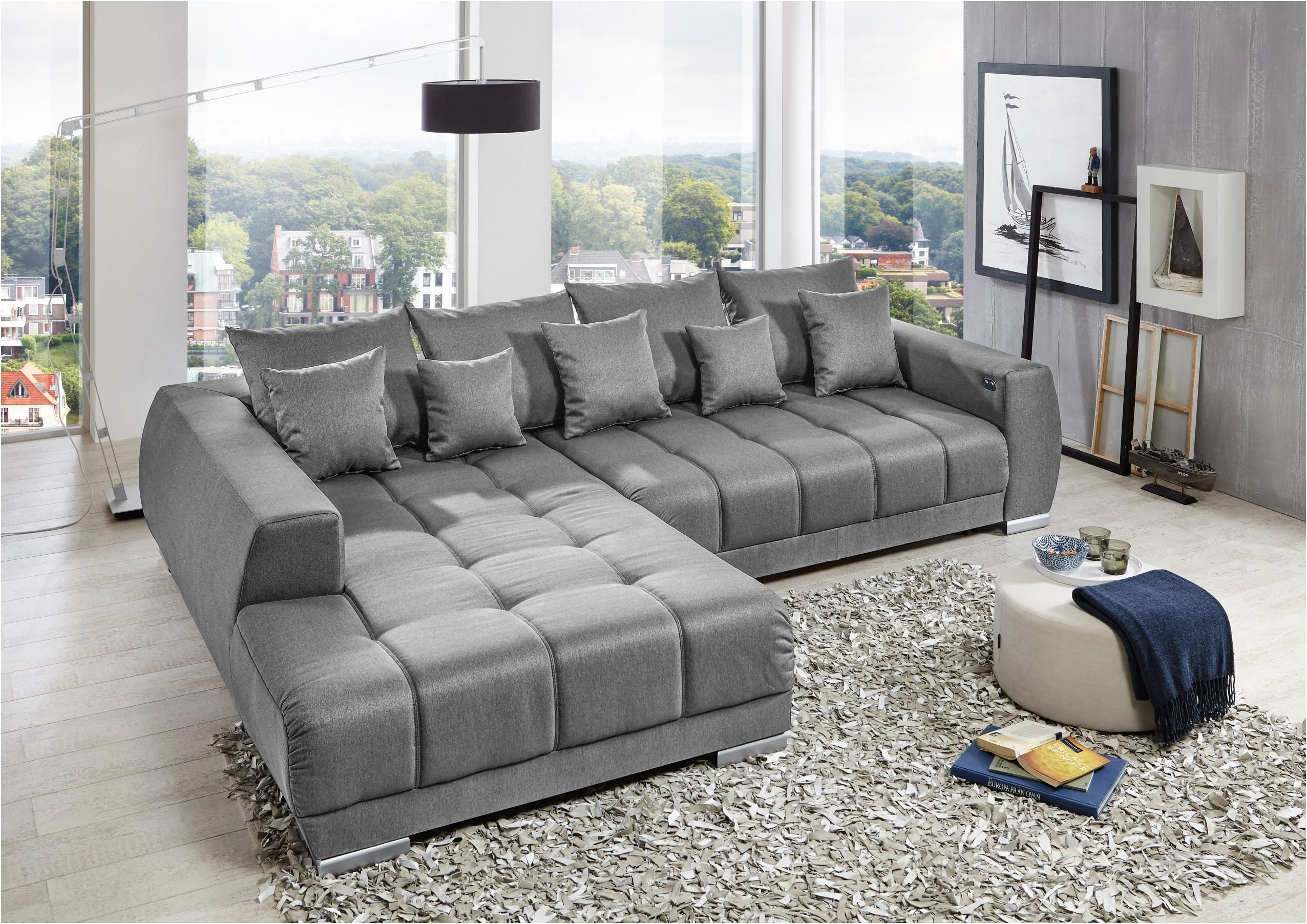 Genuine Kunstleder Wohnlandschaft In 2020 Grey Sectional Sofa Grey Sofa Living Room Gray Sofa Living