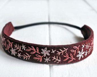 Flower Crown Headband Floral Crown Headband Hand by LoveMaude #crownheadband
