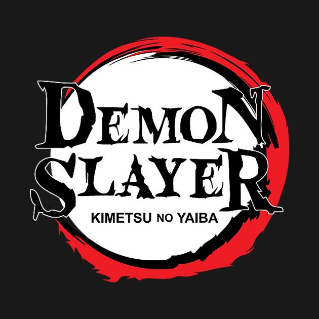 Demon Slayers Logo Demon Slayer Kimetsu No Yaiba Anime T Shirt Teepublic