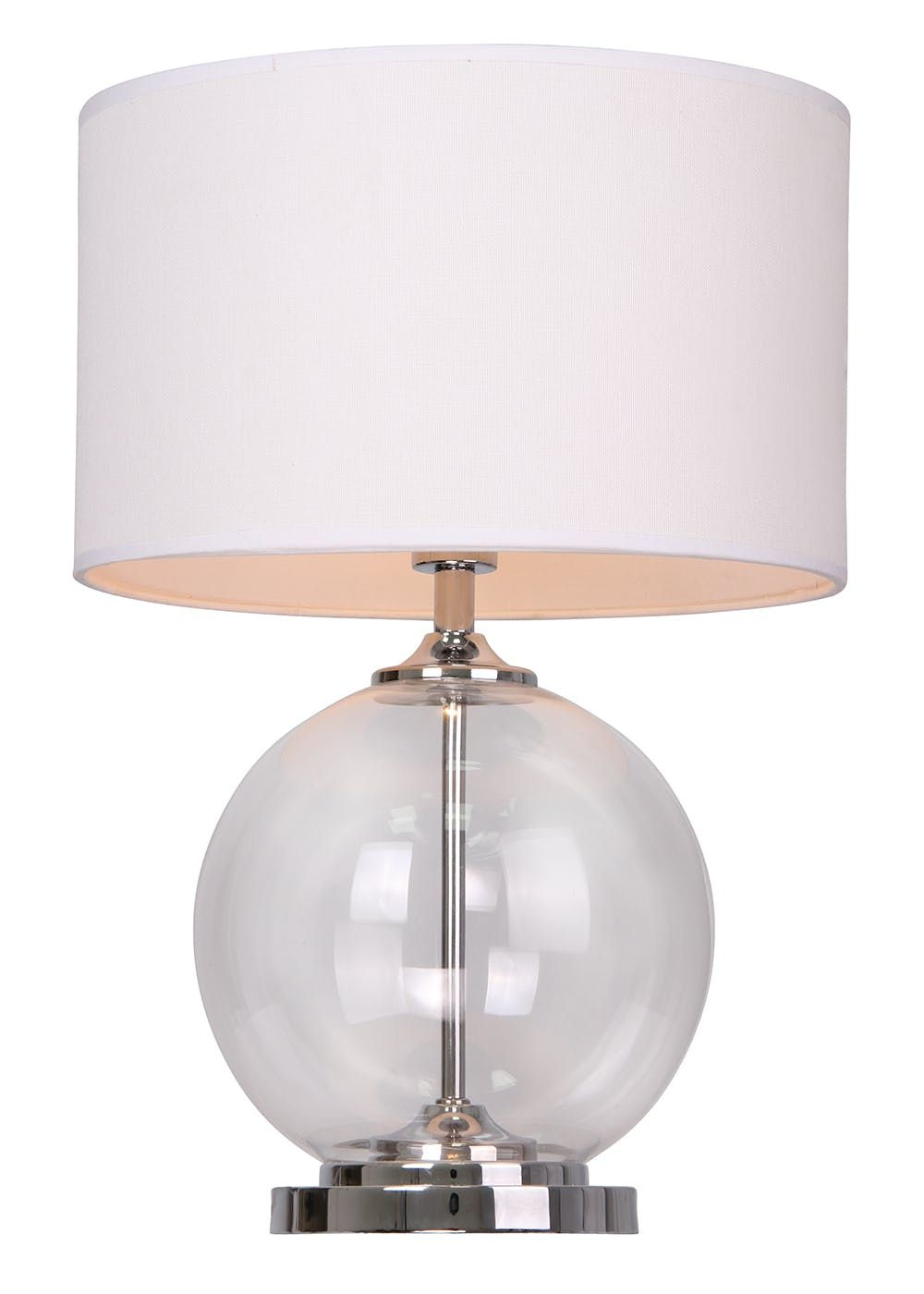 Cambridge Large Table Lamp (H52cm x W37cm) – Matalan   Glass design ...