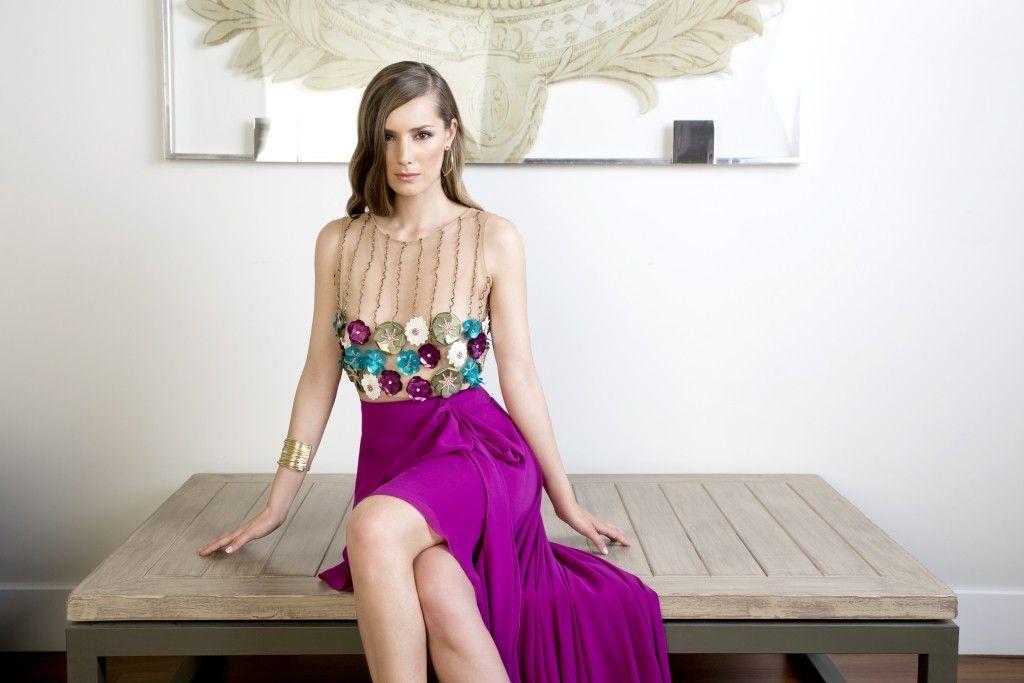 Ana torres vestidos de fiesta cortos 2015