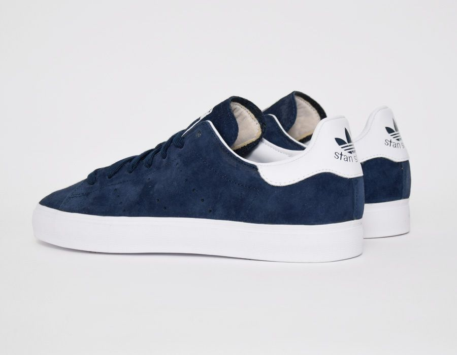 basket homme adidas stan smith navy
