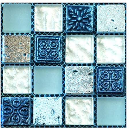 Amazon Com Ouniman Peel And Stick Wall Tile 20 Sheet Self Adhesive Floor Wall Sticker Tile Diy Remov In 2020 Wall Stickers Tiles Vinyl Wall Tiles Mosaic Tile Stickers