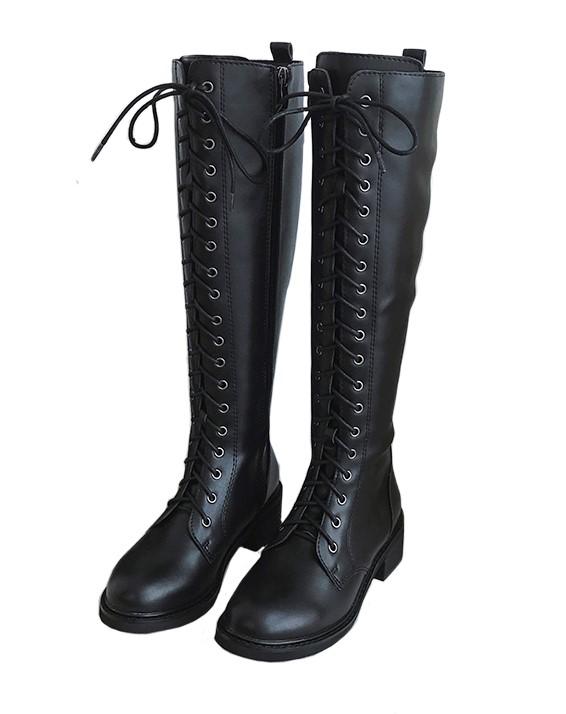 Black Lace Boots Jisoo Blackpink K Fashion At Fashionchingu Black Lace Boots Lace Boots Boots