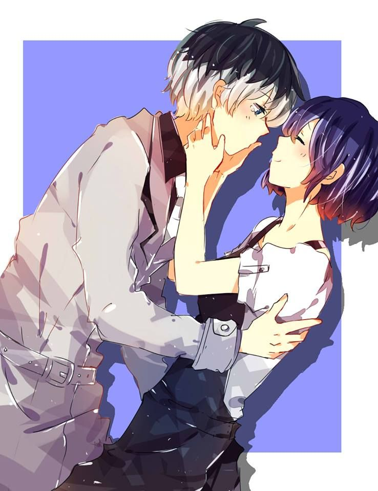 Haise x Touka - Tokyo Ghoul re:
