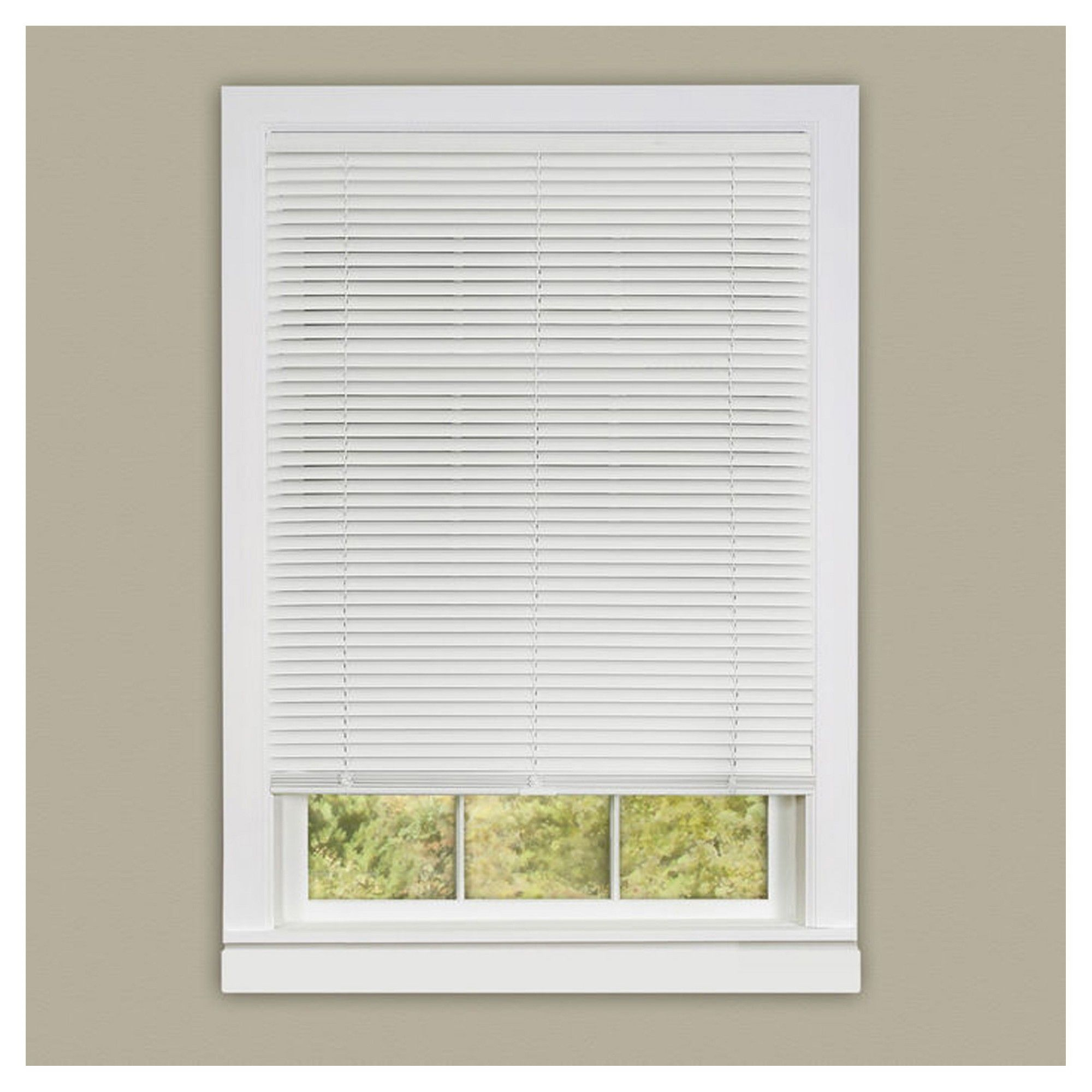 Achim Deluxe Sundown Mini Cordless Blind White 30 X64 Blinds Horizontal Blinds Mini Blinds