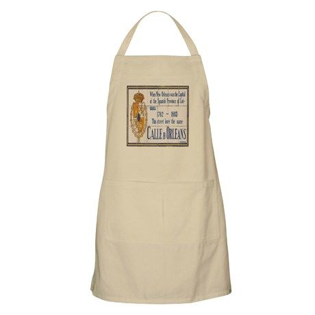 Rue Orleans BBQ Apron on CafePress.com