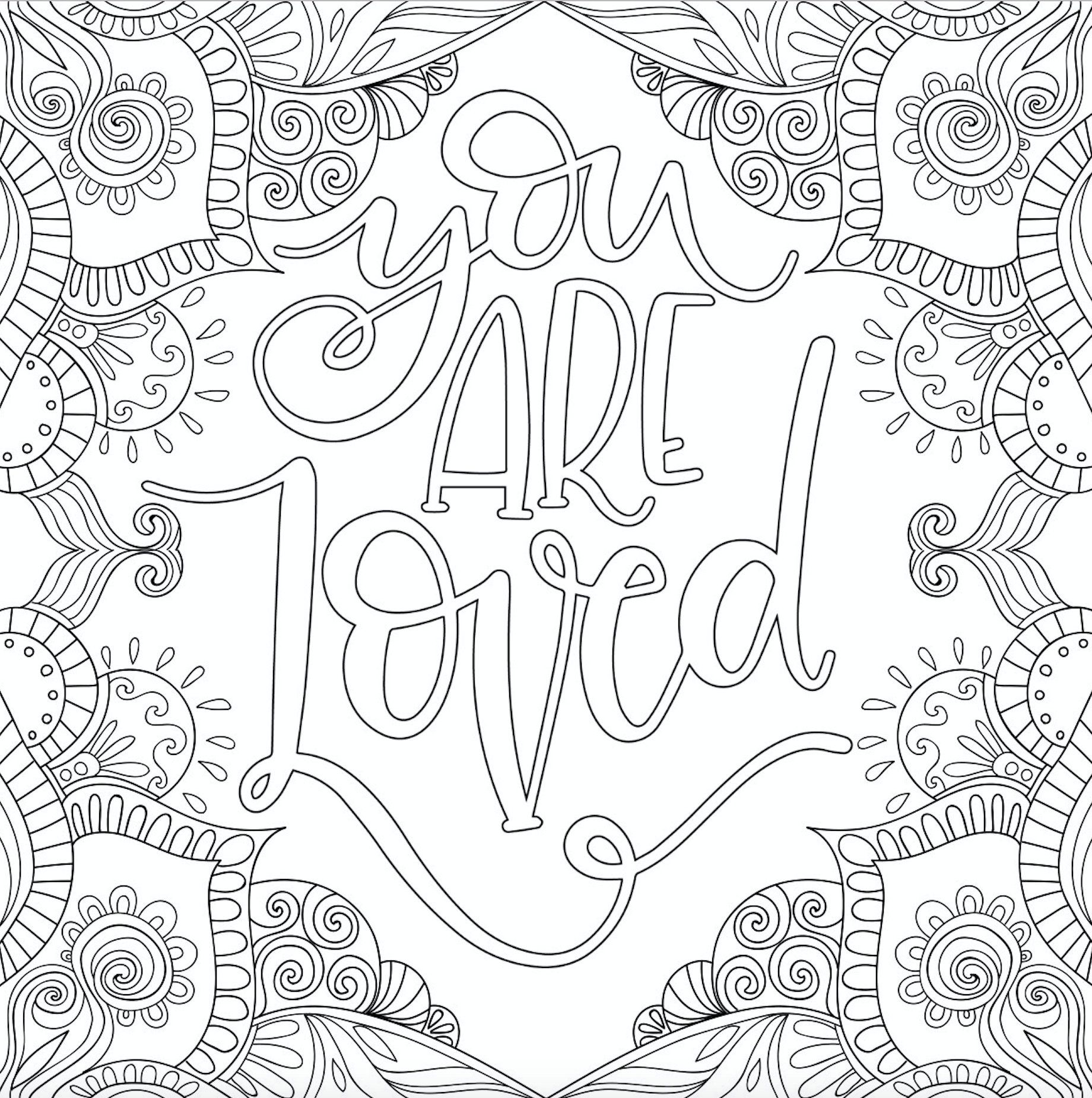 22 Motivational Printable Coloring Pages Zentangle Coloring  Etsy