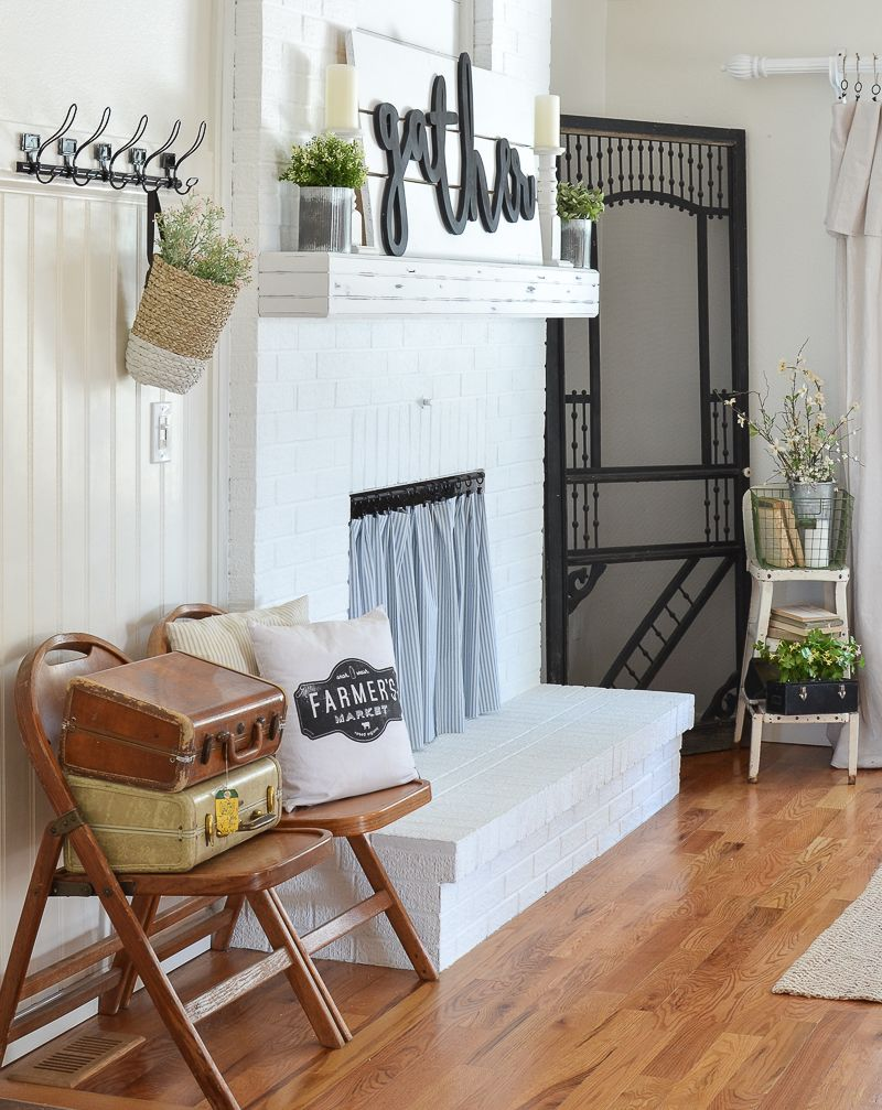 Painting Update & Lessons Learned Sunroom decorating