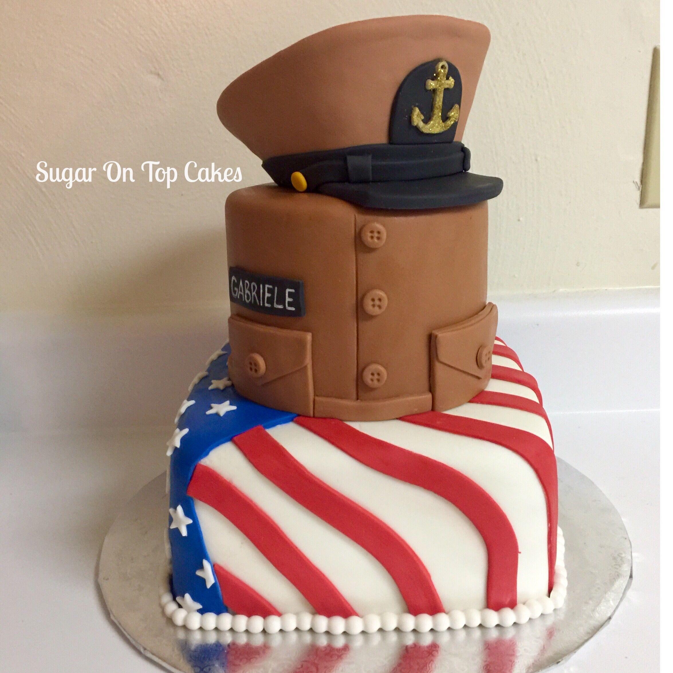 Fine Us Navy Chief Cake Facebook Com Sugarontopcakes Funny Birthday Cards Online Inifodamsfinfo