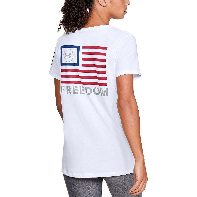 Women S Under Armour Freedom Banner Tee In 2021 Freedom Shirts Under Armour Women Women