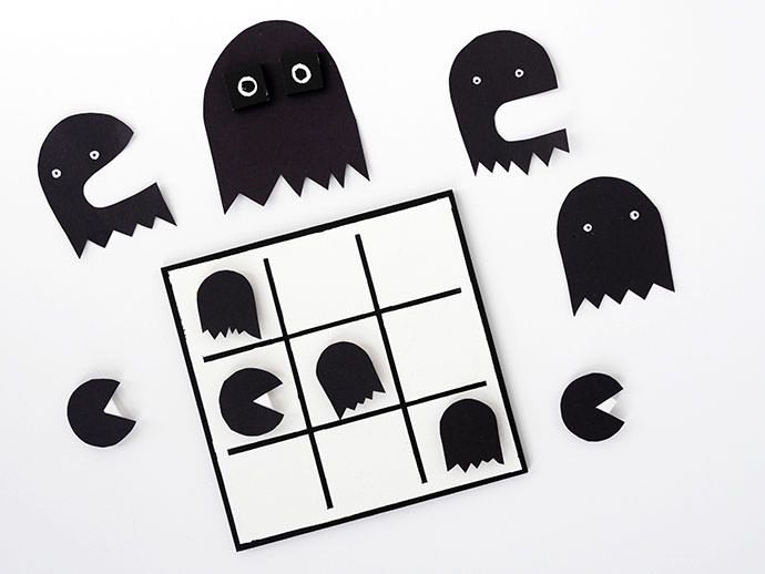 A DIY Game for the Atari Crowd   Pac man, Halloween printable and ...