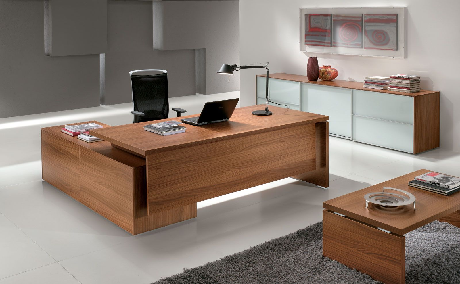 Alea Office Odeon Executive Series 8 Week Lead Time Office Table Design Home Office Design Office Table