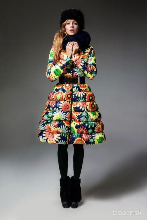 Dámska zimná bunda s pravou kožušinou  62e8c6148a1