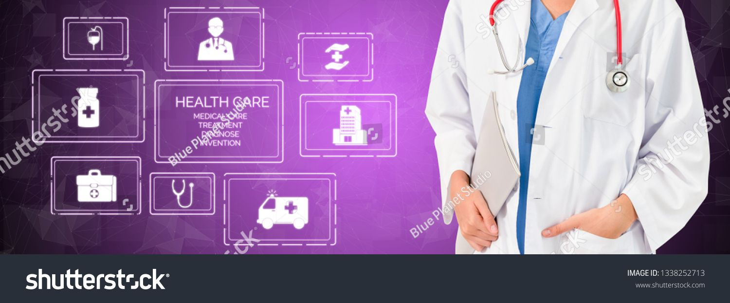 Medical Healthcare Concept Doctor in hospital with