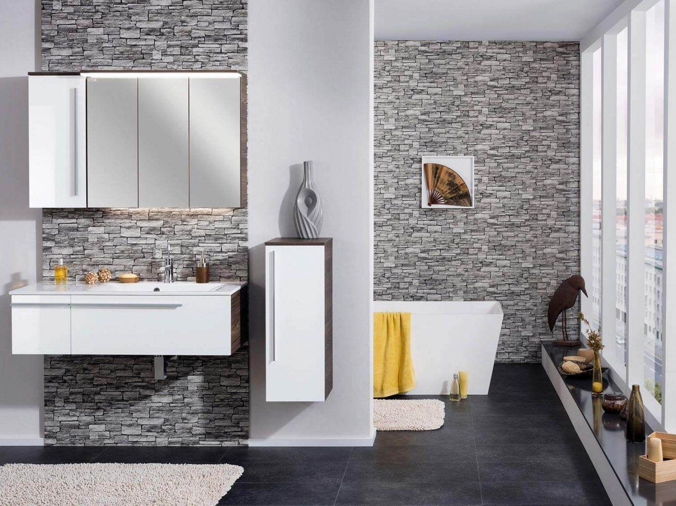 Bad Ohne Fliesen Ideen Fur Die Wandgestaltung Otto In 2020 Wandgestaltung Badezimmer Fliesen Badgestaltung