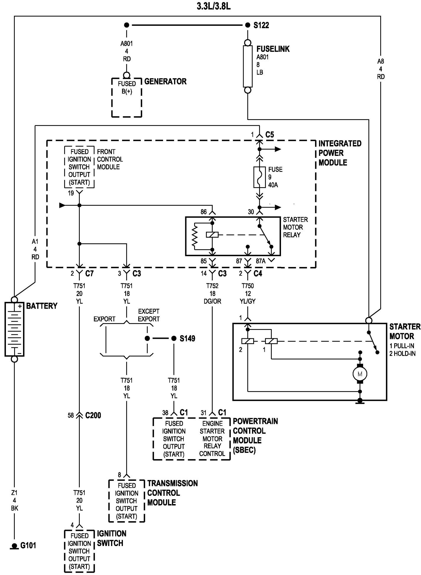 2006 Dodge Grand Caravan Engine Diagram