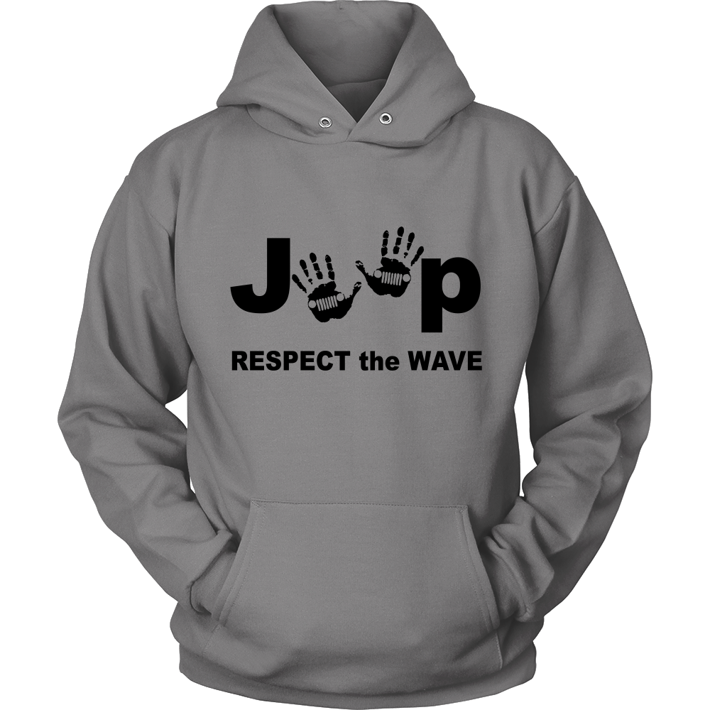 Ladies Black Jeep Wave ***RESPECT*** [Exclusive Design -Limited Time Offer]