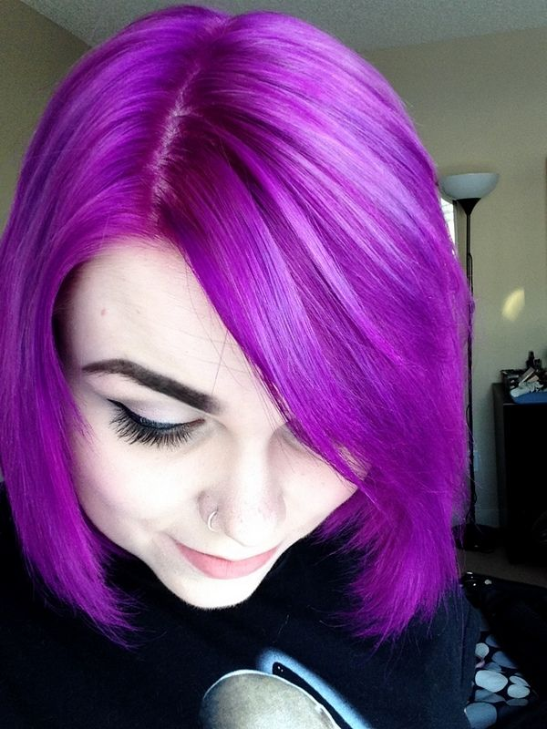 magenta hair done with jerome russell punky color rosered vivid locks pinterest colors hair and magenta hair - Punky Color