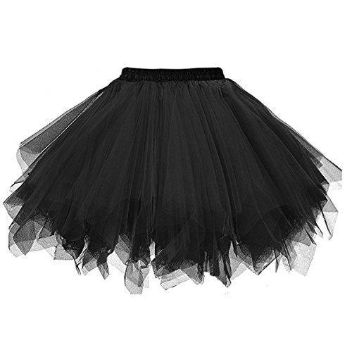 8763a252f2 Honeystore Women's Short Vintage Ballet Bubble Puffy Tutu... | Winifred  Sanderson Costume | Bubble skirt, Dark green skirt, Skirts