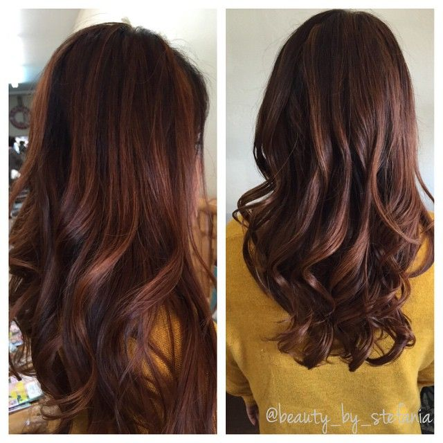 Balayage, but this is the exact COPPER color I want my sombre to fade into.