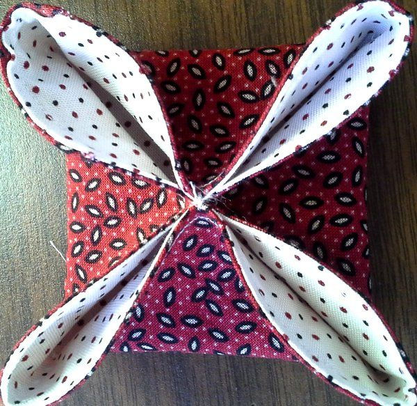 Cathedral Window Christmas Ornament | Penny Rose Fabrics ...
