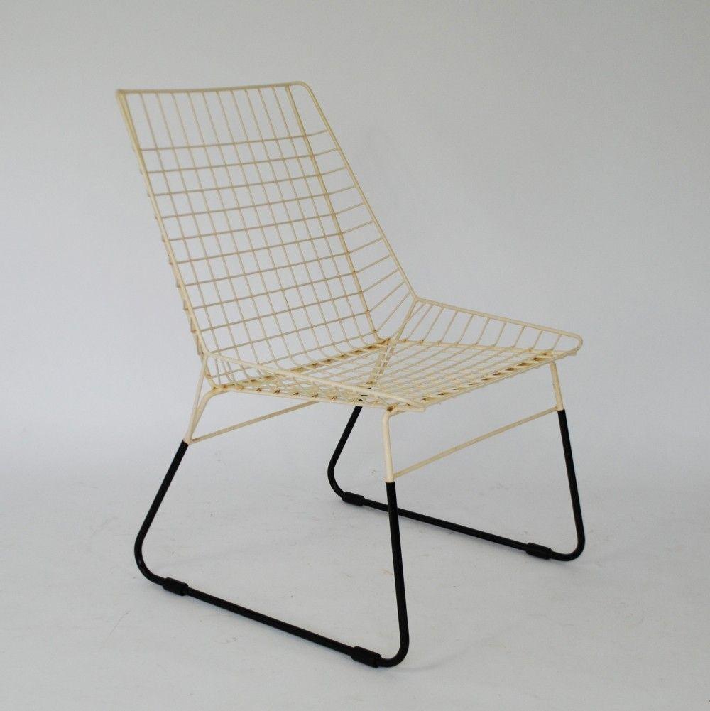 Cees Braakman For Pastoe Metal Armchair Mid Century Modern