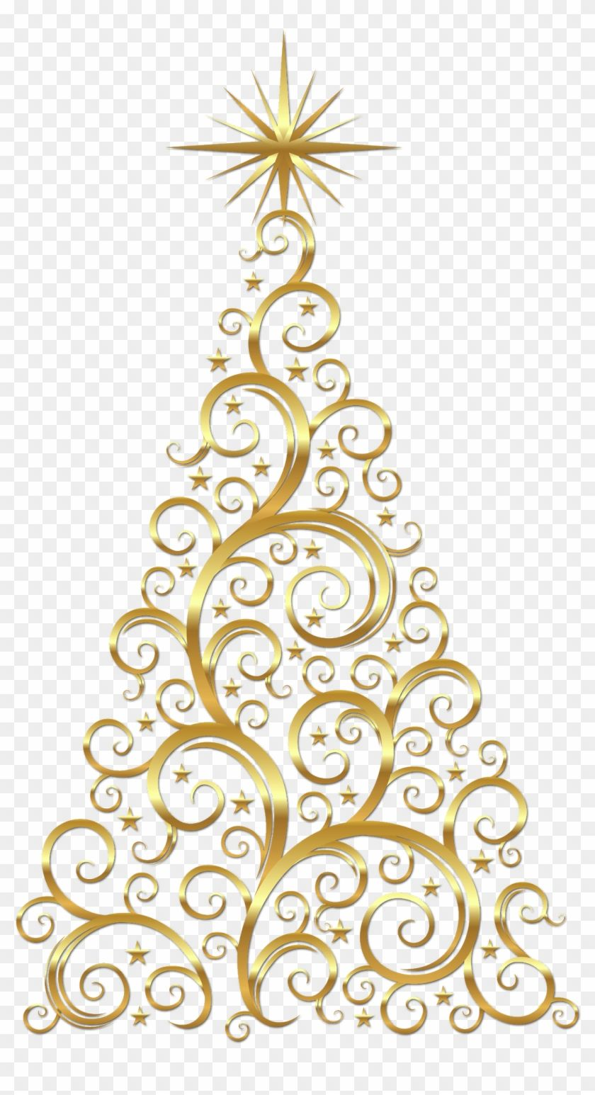 Find Hd Christmas Tree Christmas Day Gold Christmas Tree Clipart Hd Png Download To Search Christmas Tree Clipart Christmas Tree Images Gold Christmas Tree