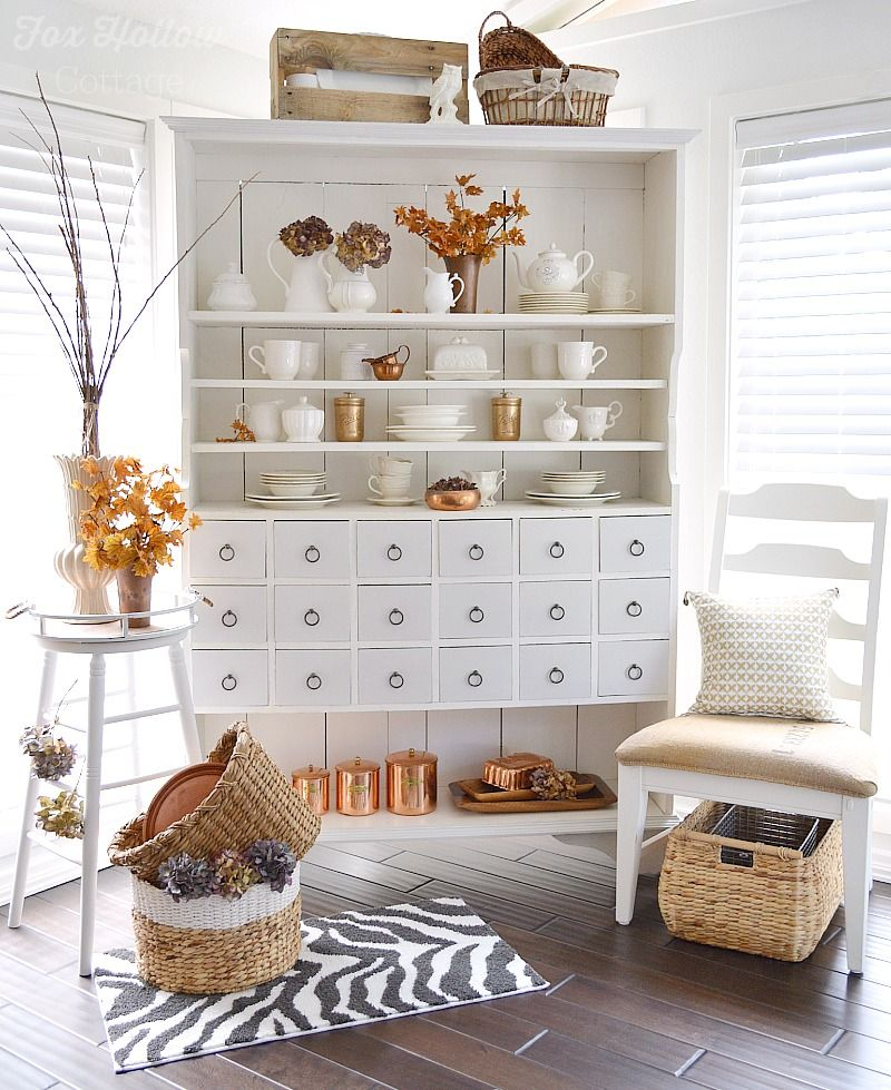 Apothecary Home Decor: Autumn Apothecary ~ It's Fall At The Cottage
