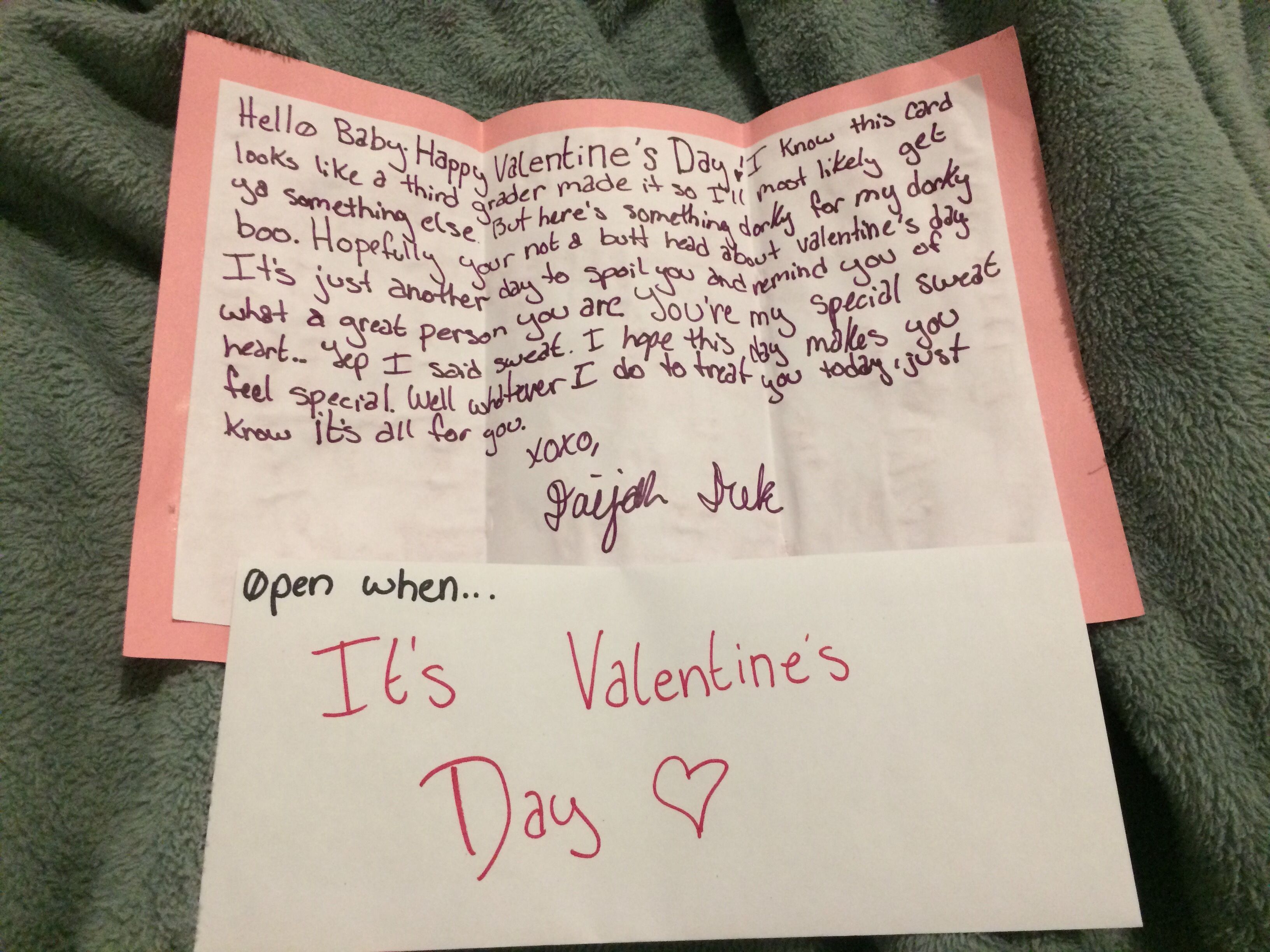 Open When Letter Valentine S Day Letter Open When Letters Cute Boyfriend Gifts