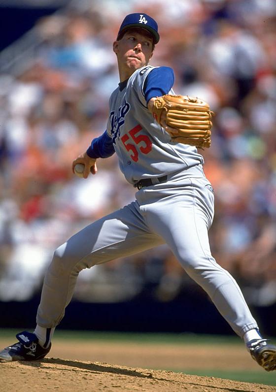 Orel Hershiser 1993 Dodgers Sports Illustrated Kids Dodgers Baseball