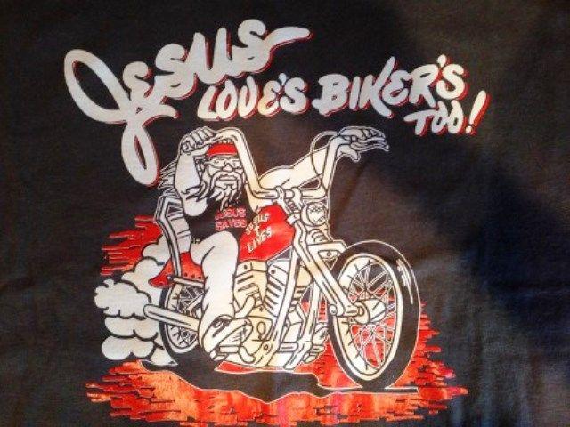 Jesus Loves Bikers Tooo Christian Biker Biker Art Bikers Prayer