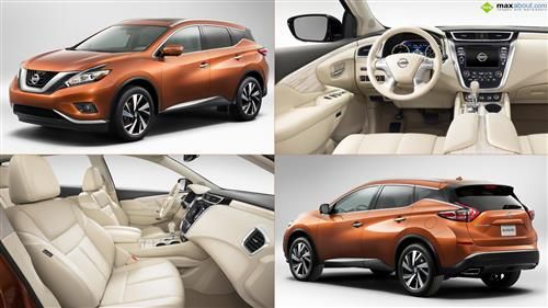 Maxabout Wallpapers 2015 Nissan Murano Nissan Murano Nissan