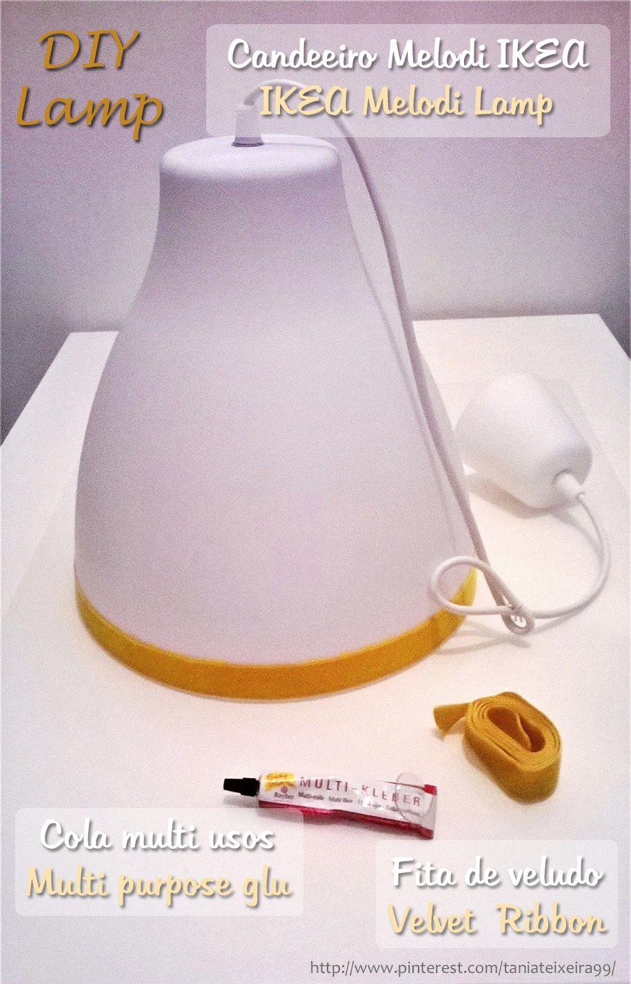 Ikea Lamp Melodi com Melodi Pendant IKEA DIYCandeeiro tsoQrdxChB