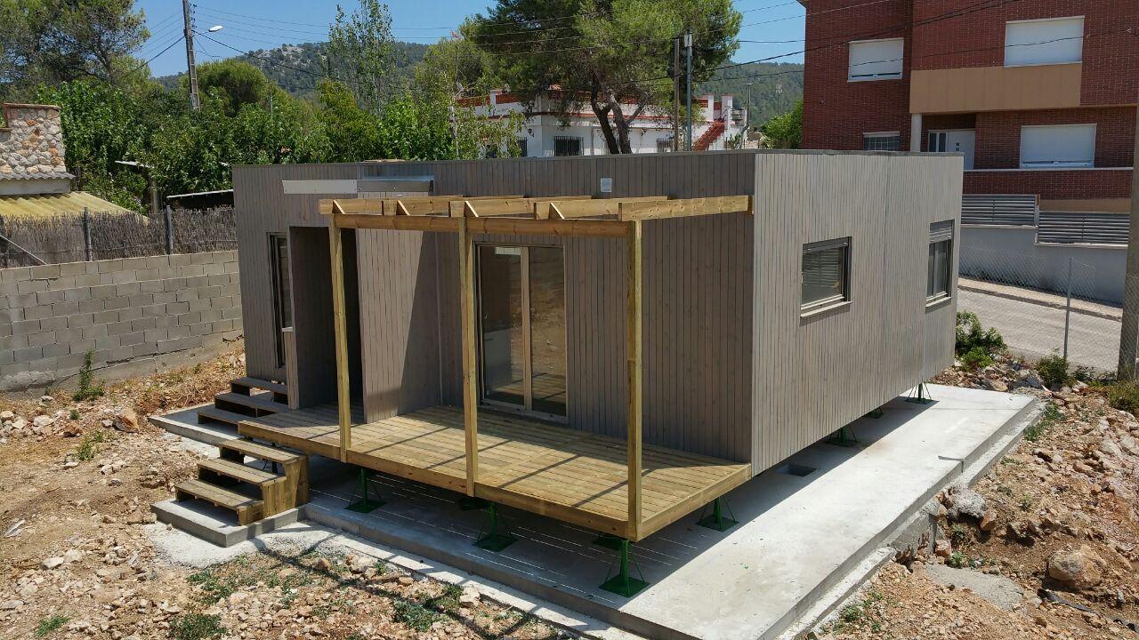Casa de madera prefabricada barcelona caba as casas - Casas prefabricadas barcelona ...