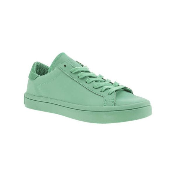 Adidas Turquoise Adicolor Court Vantage