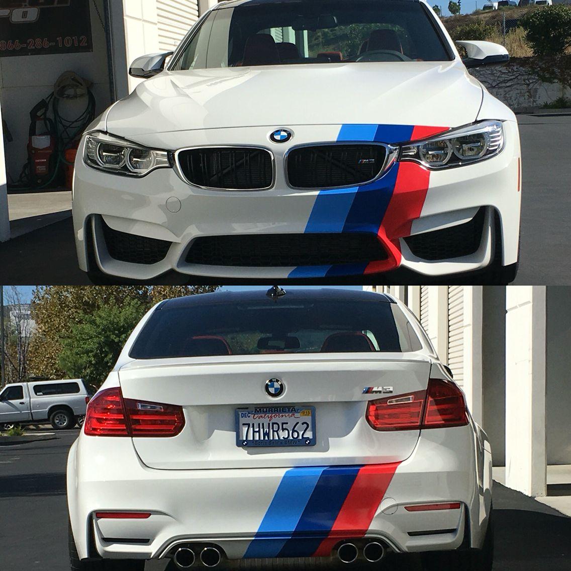 BMW M3 Stripes