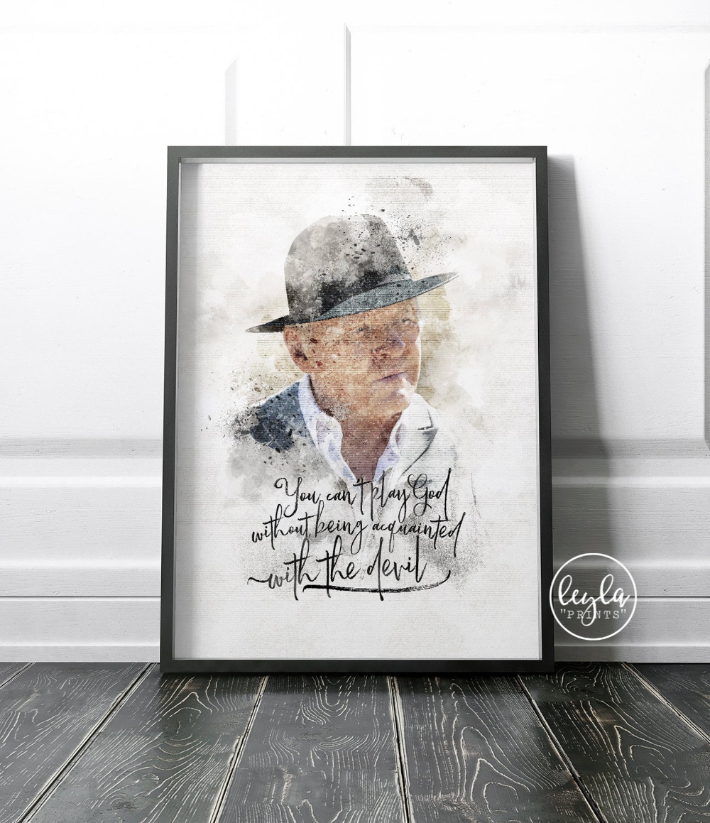 Westworld Print Dr Robert Ford A6 A5 A4 A3 Illustration Print