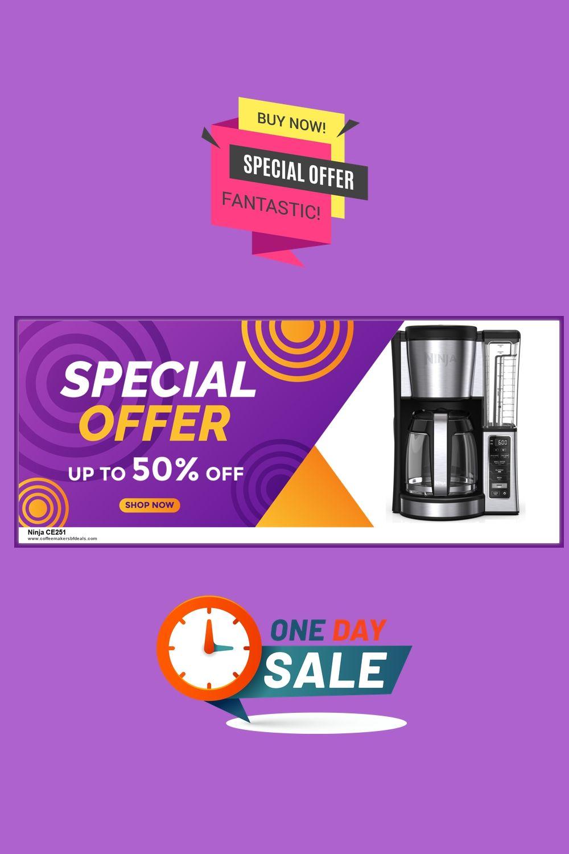 10 Best Ninja Ce251 Coffee Maker Black Friday Cyber Monday Deals 2020 In 2020 Black Friday Ninja Coffee Maker Black Friday Cyber Monday