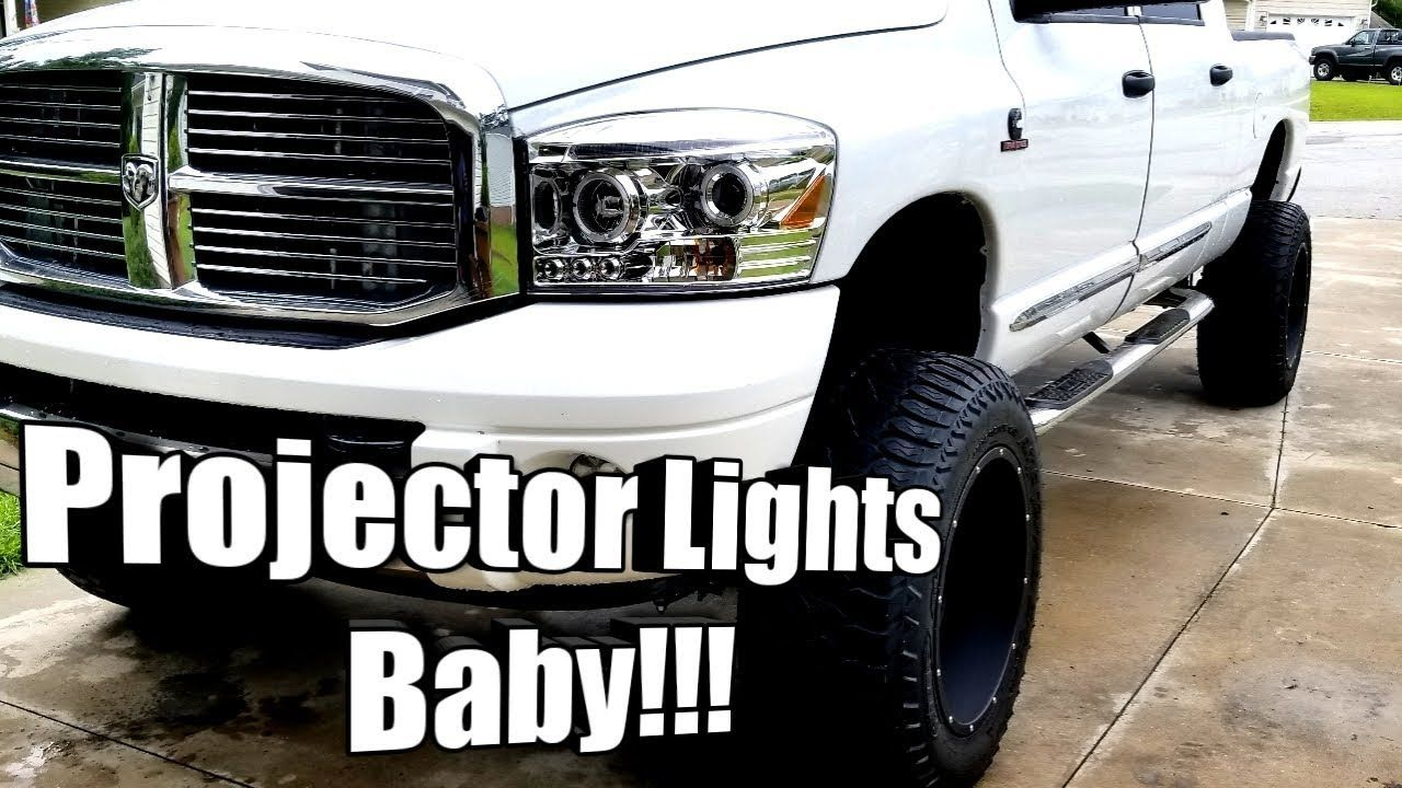 Latest Dodge Ram Led Headlights Taillights For Ram 2500 30184 White Ga Jan 2018 Thanks For Watching Like Commen Led Headlights Ram 2500 Headlights