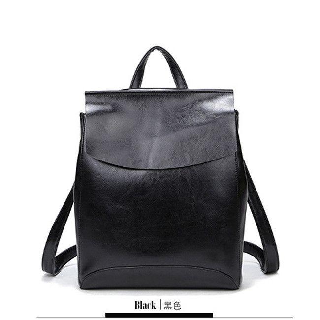 be3eda2ba126 ... School Shoulder Bag Bagpack mochila. 100% Genuine Leather Women Backpack