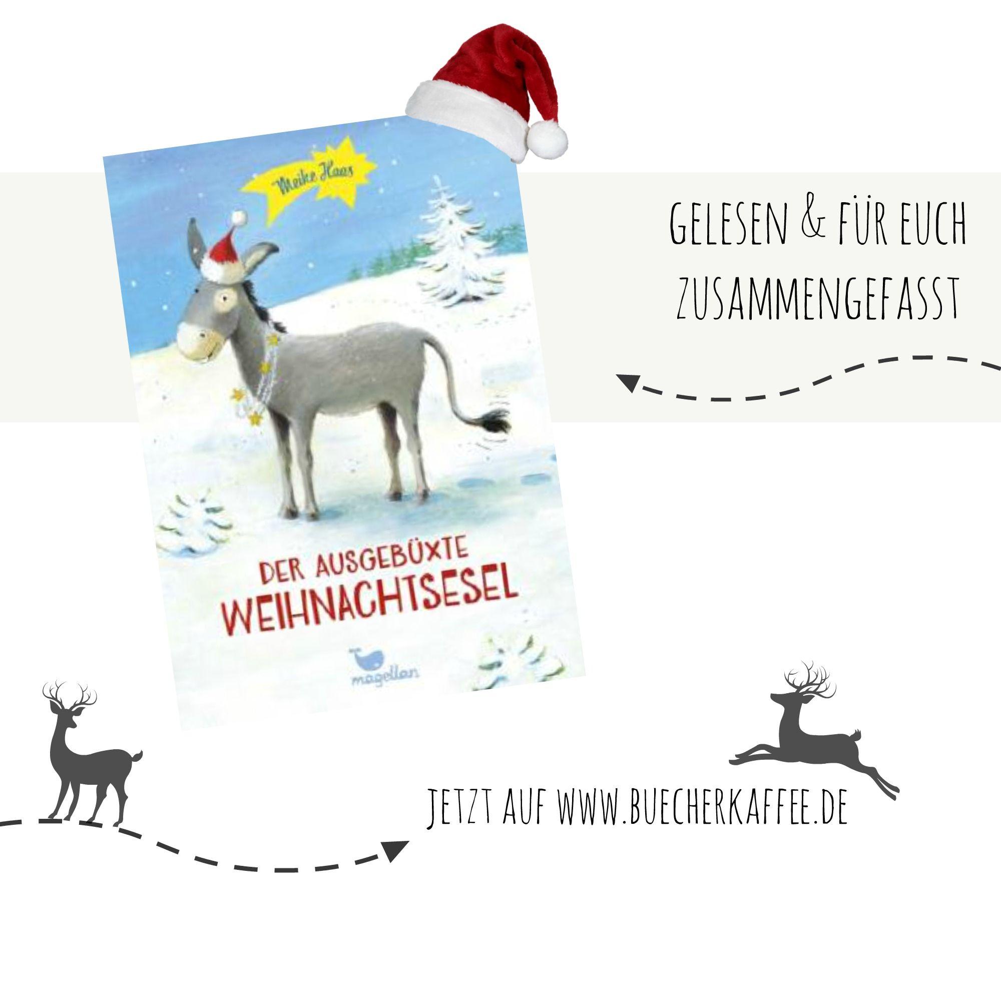 Der ausgebüxte Weihnachtsesel | Meike Haas | Magellan Verlag  --> http://www.buecherkaffee.de/2014/11/rezension-der-ausgebuxte-weihnachtsesel.html  Eine bezaubernde Geschichte zur Weihnachtszeit über Familie und Freundschaft, sehnlichste Wünsche, ideelle und materielle Werte - und wie ein kleiner ausgebüxter Esel Weihnachten rettet.