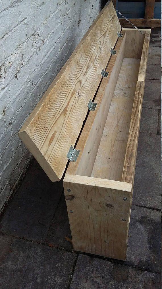 Made To Order Scaffold Wood Storage Bench Diy Storage Bench Wooden Storage Bench Wood Furniture Diy