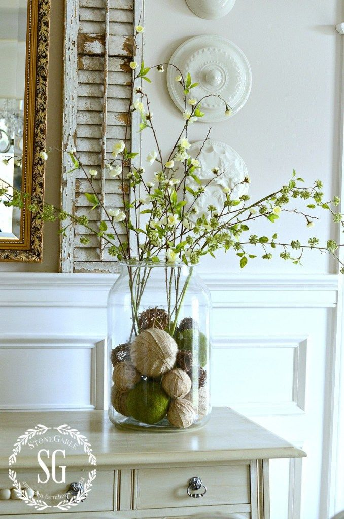 18 Gorgeous Vase Filler Ideas Crafts Pinterest Home Decor