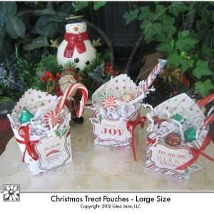 Large size christmas treat pouches santa merry christmas large size christmas treat pouches santa merry christmas snowman holiday treat solutioingenieria Gallery