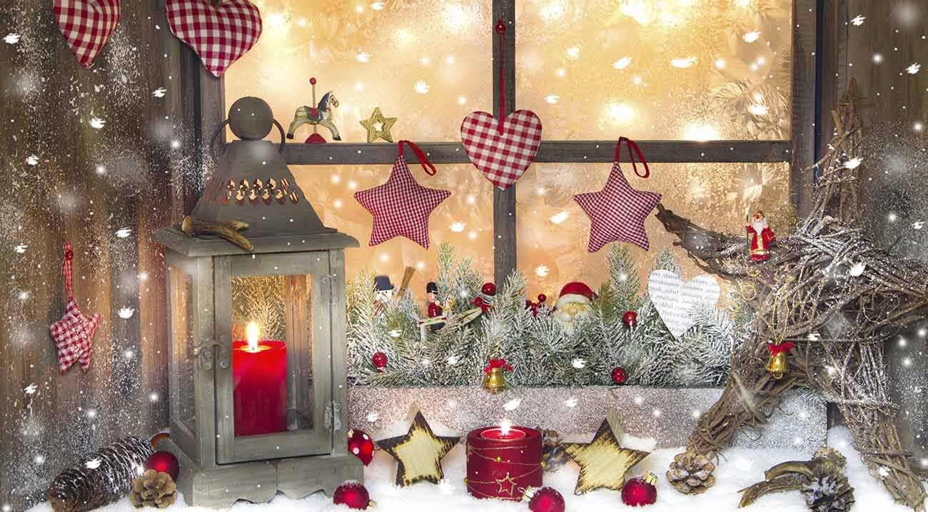 No l traditionnel accessoires de d coration d 39 int rieur for Decoration interieur de noel