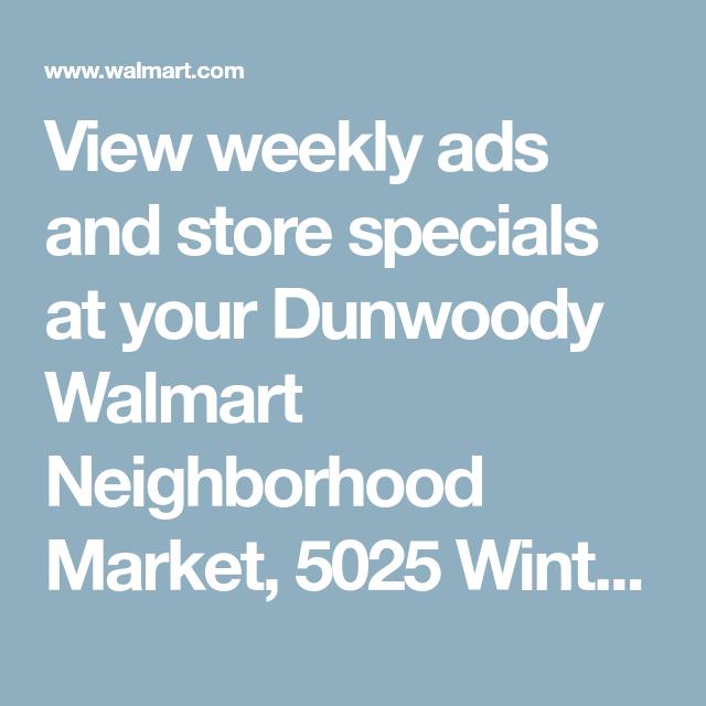 walmart dunwoody