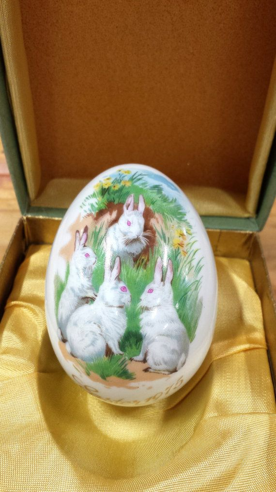 Vintage easter gifts royal bayreuth 1975 easter egg by vintage easter gifts royal bayreuth 1975 easter egg by artmaxantiques on etsy negle Gallery